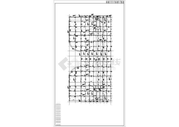 某15层框剪住宅楼结构设计图-图2