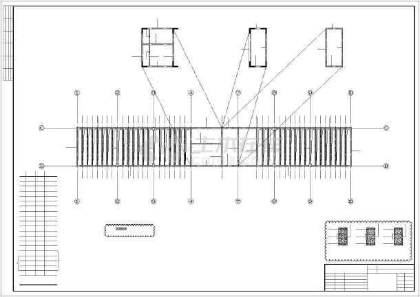 某18层框架-抗震墙住宅结构设计图-图1