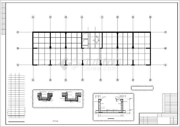 某18层框架-抗震墙住宅结构设计图-图3