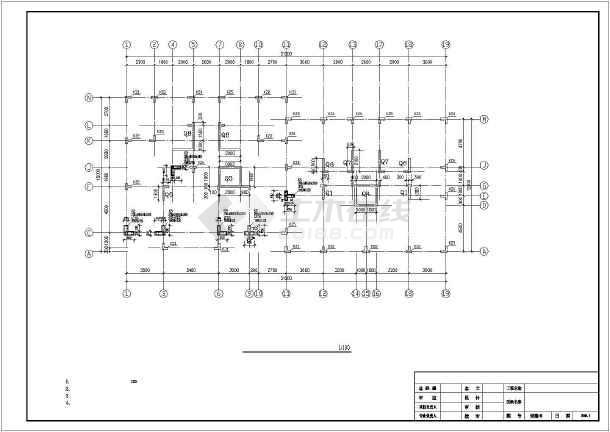 某8层异型柱框剪住宅结构设计图-图2