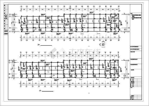 某框架综合楼结构设计图-图3