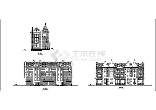 多种别墅户型建筑图纸-图1