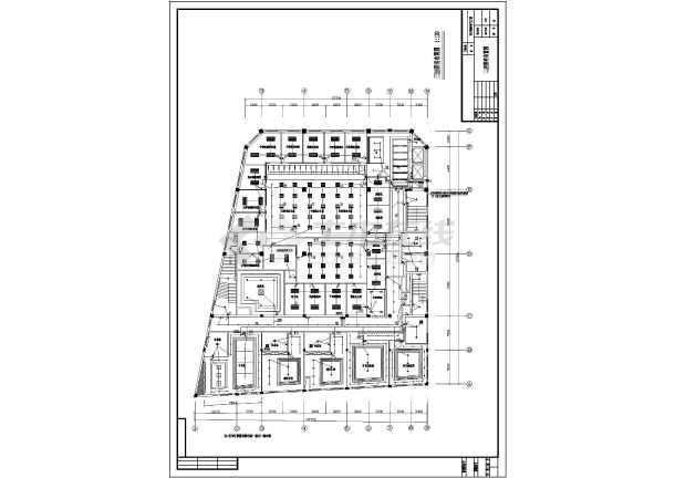 某办公大楼室内装饰强电设计电气图纸-图1