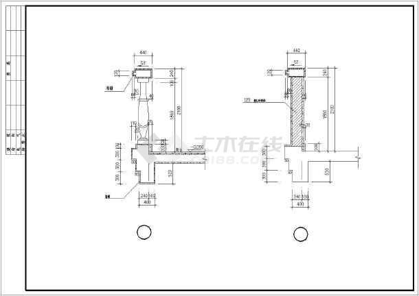 某地区某别墅样板房建筑施工图-图2