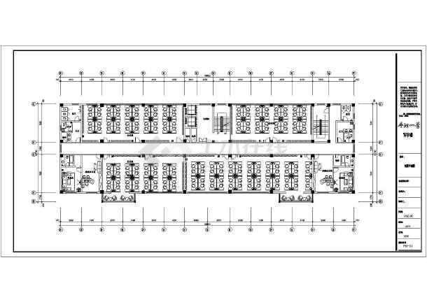 一整套厂房装修设计cad施工图-图1