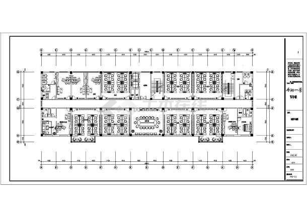 一整套厂房装修设计cad施工图-图2