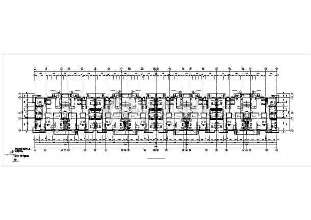 金色漫香郡7#8#楼暖通设计图纸-图1