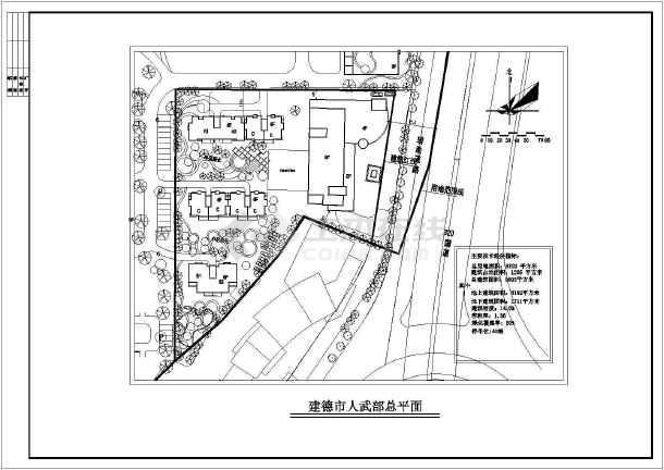 某综合楼建筑方案图-图2