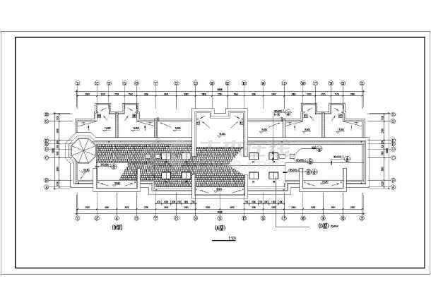 某地高档小区住宅楼建筑施工图-图3