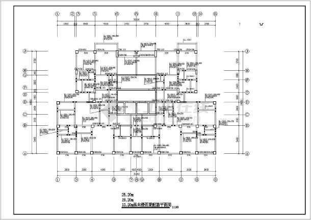 某十四层框剪(筒体)结构住宅楼结构设计图-图2