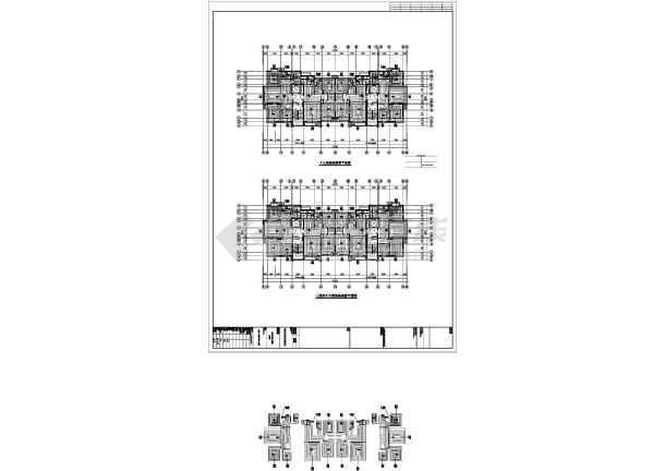 某小区16#楼暖通图-图1