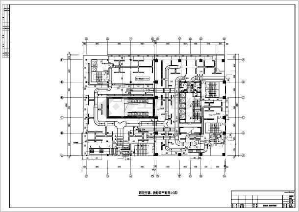 某一类高层综合楼暖通空调成套图-图1