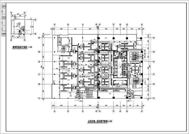 某一类高层综合楼暖通空调成套图-图2
