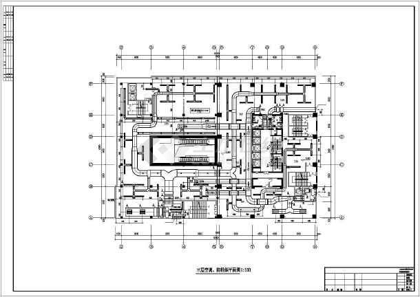 某一类高层综合楼暖通空调成套图-图3