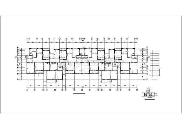 [新疆]某11层剪力墙结构住宅楼全套结构设计图-图1