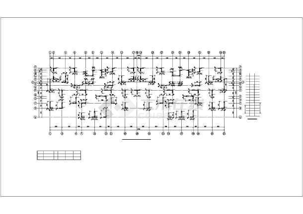 [新疆]某11层剪力墙结构住宅楼全套结构设计图-图2