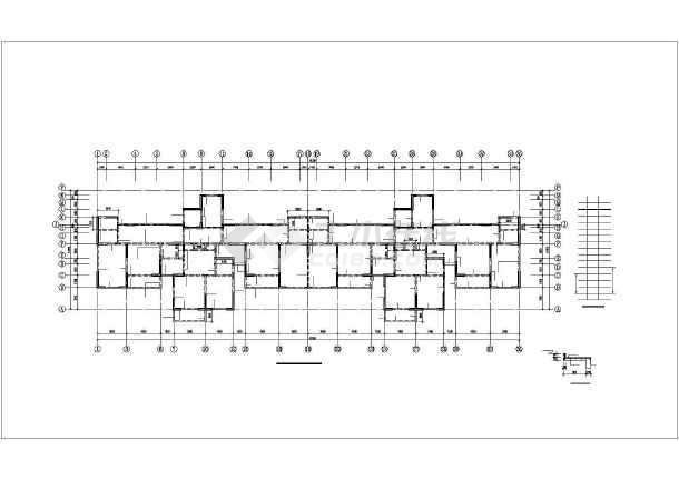 [新疆]某11层剪力墙结构住宅楼全套结构设计图-图3