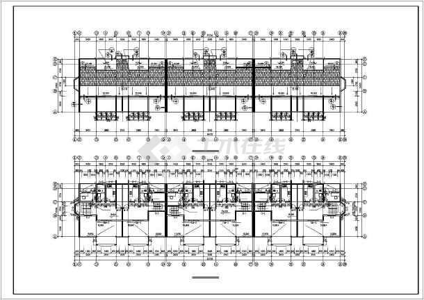 某高级小区住宅楼建筑施工图-图1