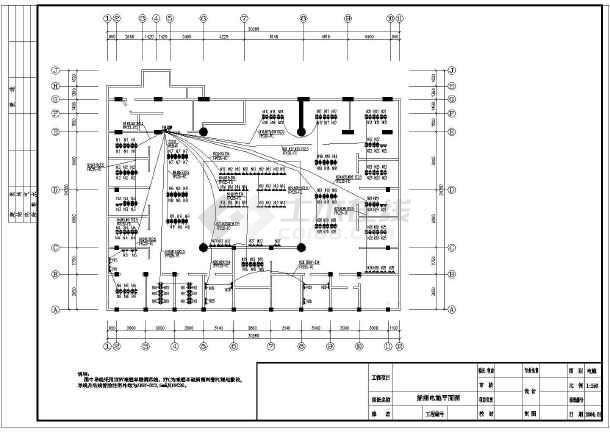 某大型网吧电气图纸-图2