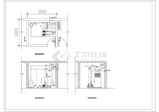 某别墅区地源热泵全套空调图-图3