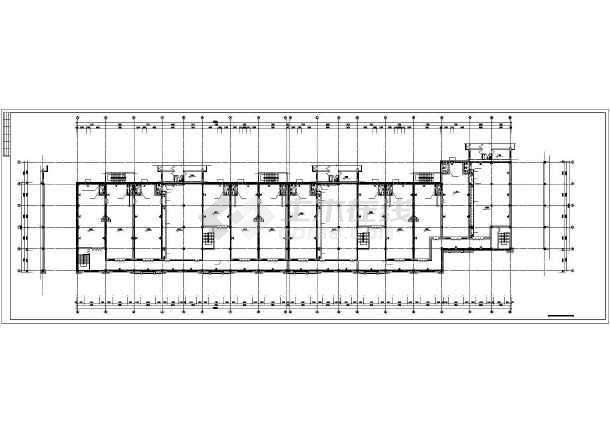 某东北城市2#楼暖通施工图-图1