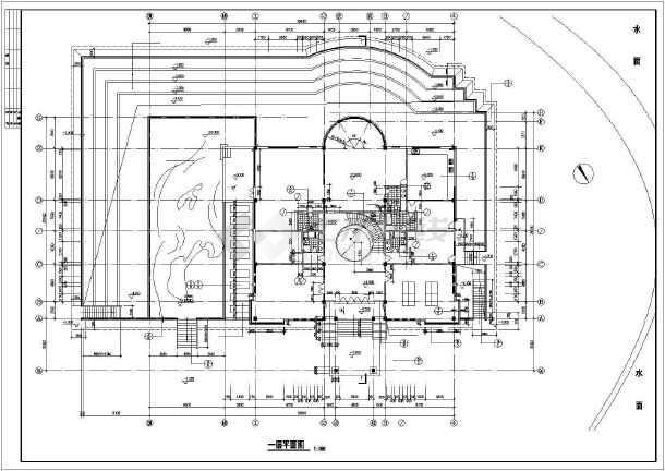 某休闲别墅建筑结构施工图-图2