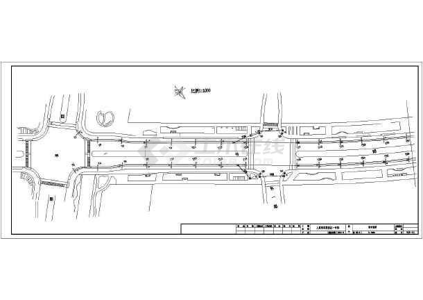 某地道路路灯施工电气图-图2