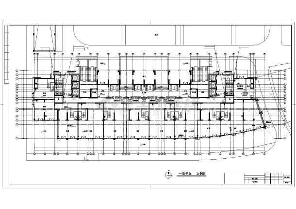 某商务公寓暖通设计图纸-图1