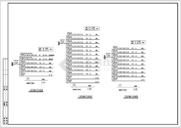 某职工宿舍综合楼装饰设计cad施工图-图3