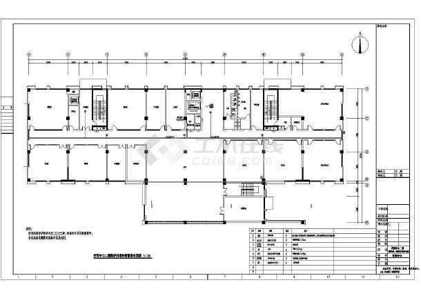 [上海]社会福利院养老院电气全套智能化系统工程图纸-图3