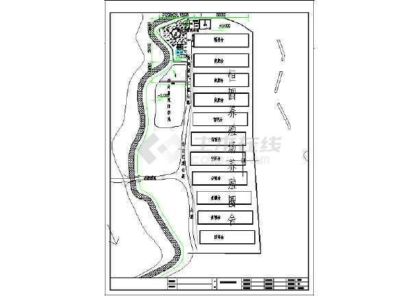 四川某养殖场污水处理全套图纸-图1