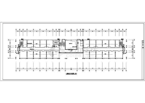 某办公楼电气施工图-图1