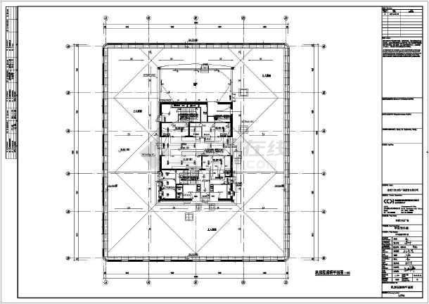 [山东]东营万达广场甲写二版图动力、照明及消防平面图(含设计说明)-图1