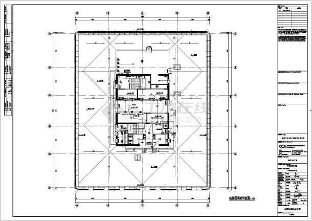 [山东]东营万达广场甲写二版图动力、照明及消防平面图(含设计说明)-图2