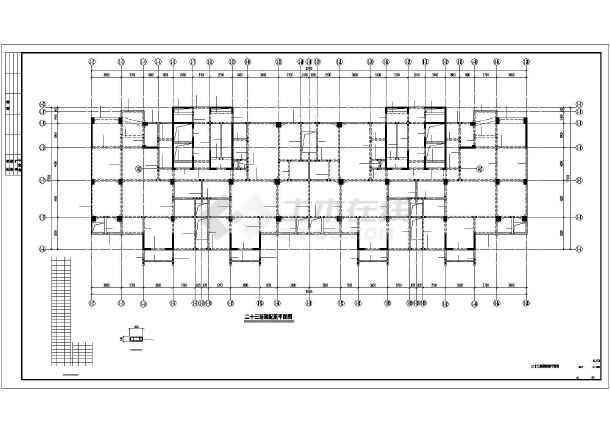 某28层框剪商住楼结构施工图纸-图2