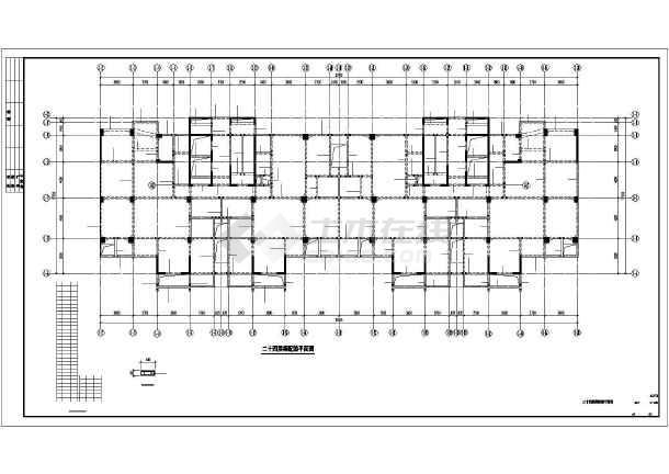 某28层框剪商住楼结构施工图纸-图3