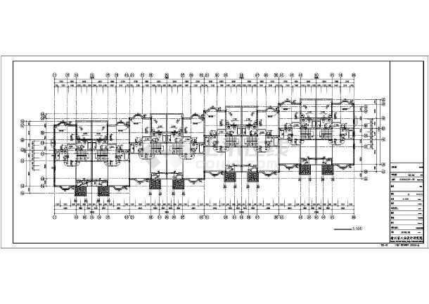 231平米高档别墅全套建筑设计图-图2