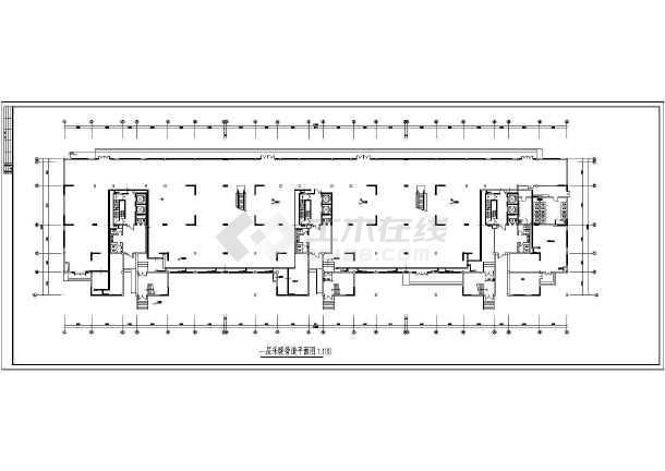 某高层住宅楼采暖图纸-图1