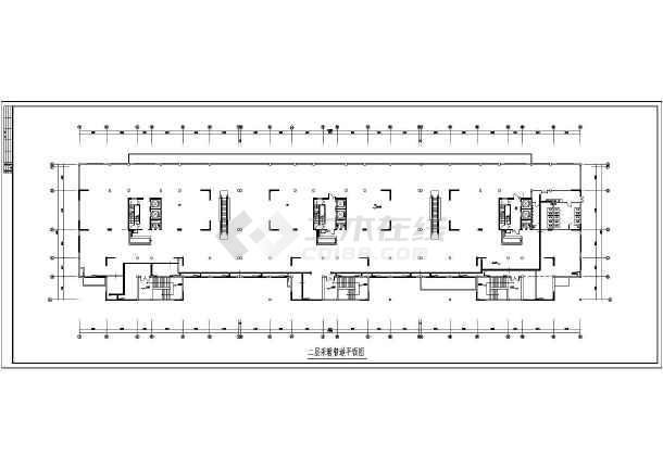 某高层住宅楼采暖图纸-图2