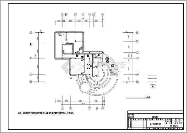 某别墅暖通空调设计图-图2