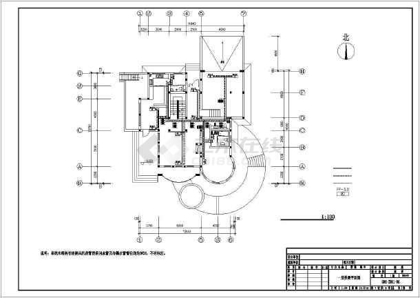 某别墅暖通空调设计图-图3