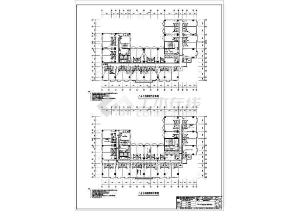 某商业电气施工图-图1