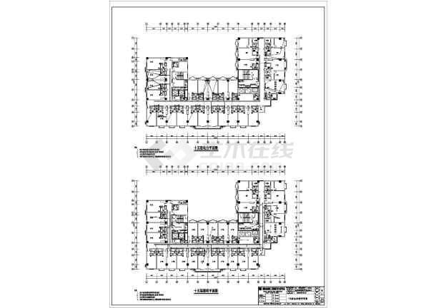 某商业电气施工图-图2