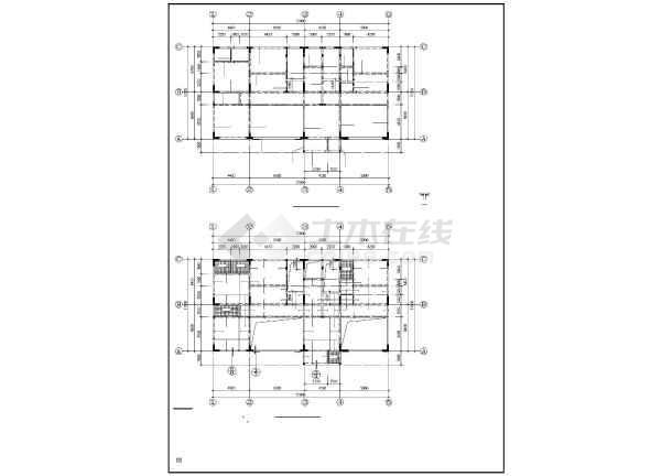 某框架住宅结构设计图-图3