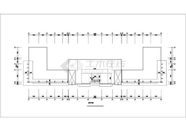 某生产基地装修设计施工图-图1