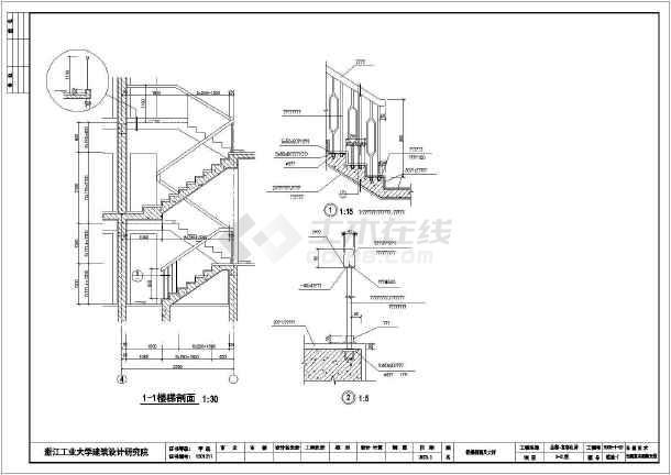 187平米欧式别墅全套建筑设计图-图1