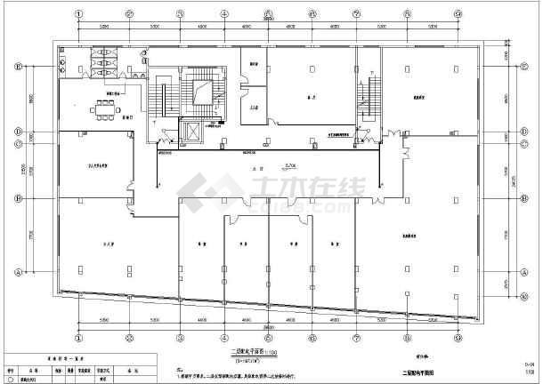 某商住楼电气图-图1