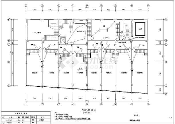 某商住楼电气图-图2
