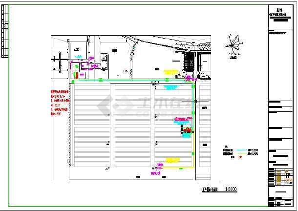 某码头污水处理工程给排水施工图和污水处理工艺图-图2