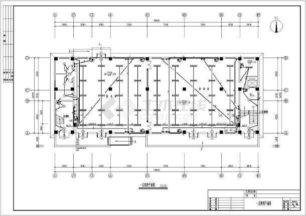 某学生宿舍电气施工图-图2